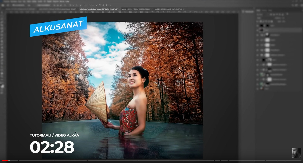 adobe photoshop kurssi perusteet osa 2