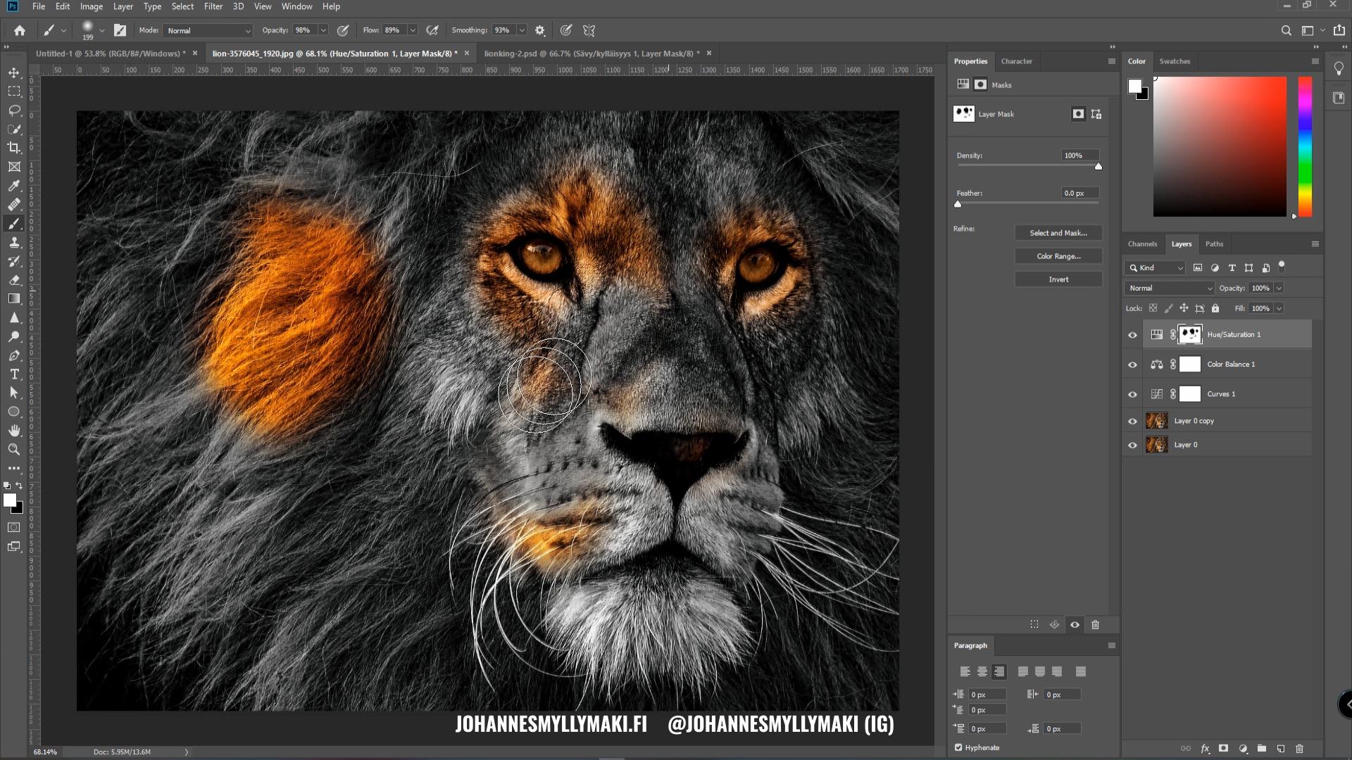 Tasomaskit / layer masks