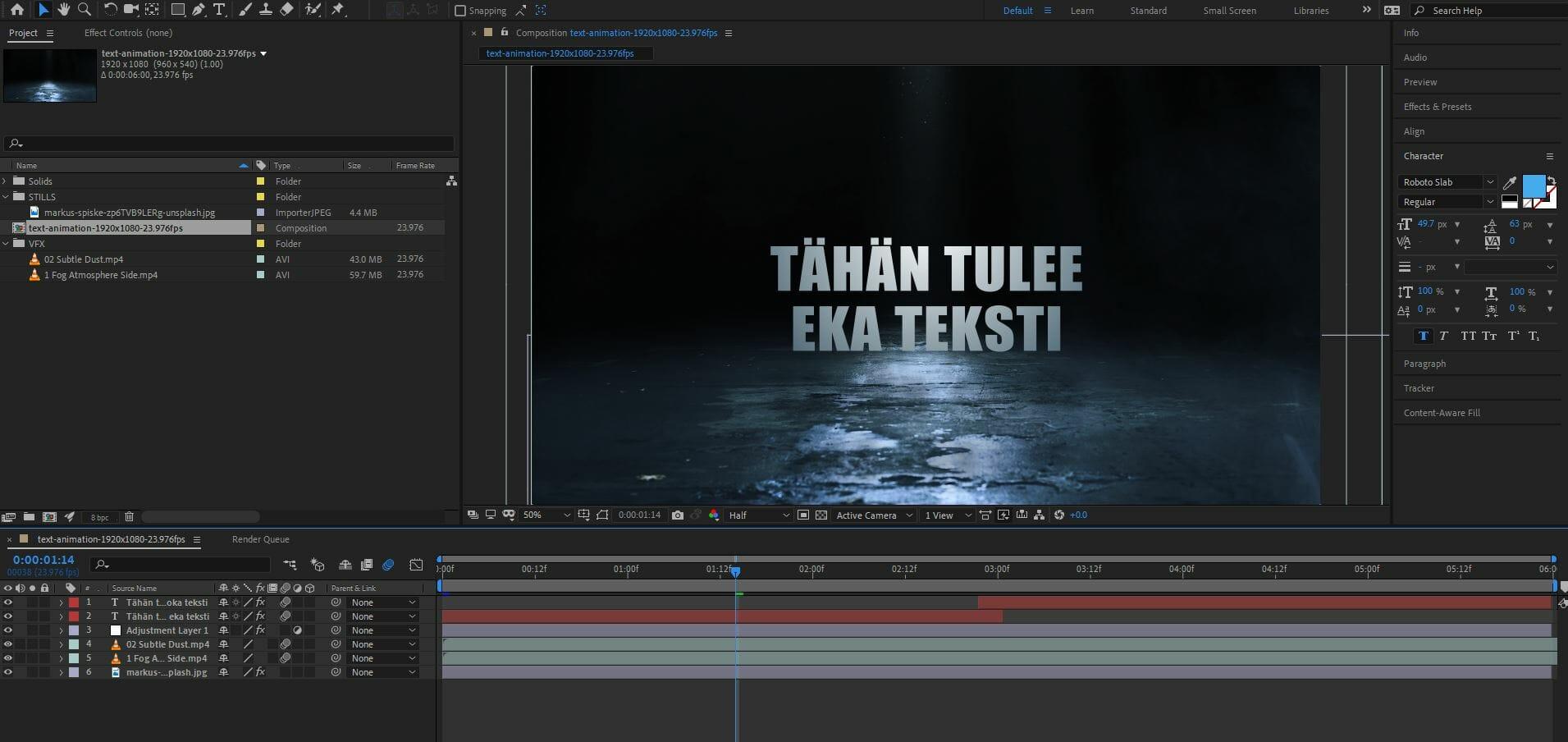 after-effects-perusteet-animaatioprojektin-tekeminen