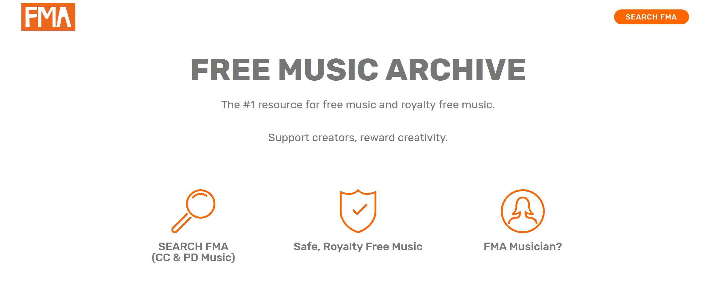 Free Music Archive - ilmaisen musiikin arkisto