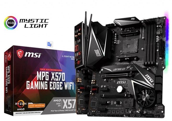 MSI MPG x570 emolevy
