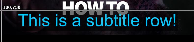 subtitle-row